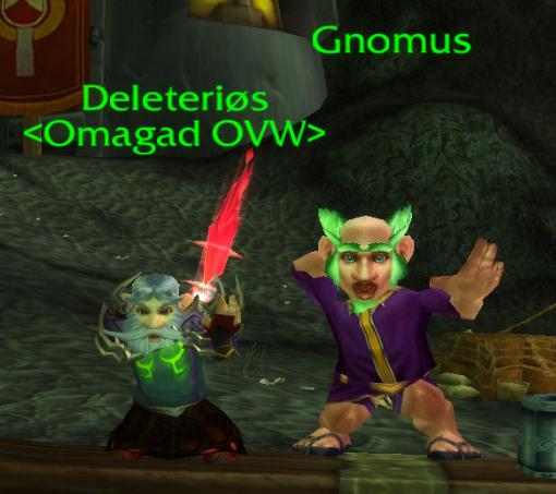 gnomes danse  wow