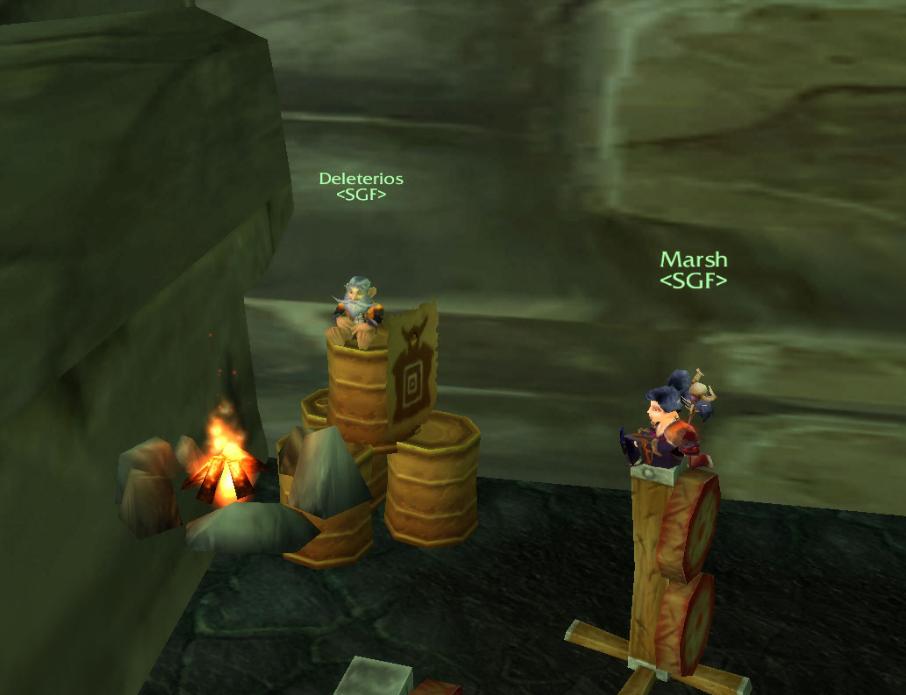 Marsh gnomes feu bug  wow