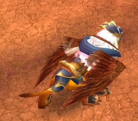 volant poulet  wow