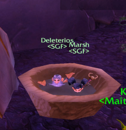 sexy Marsh gnomes bain  wow