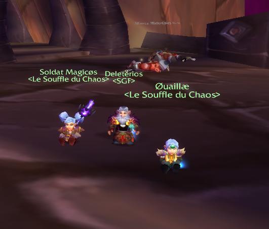 Ouaillae Magicos gnomes  wow